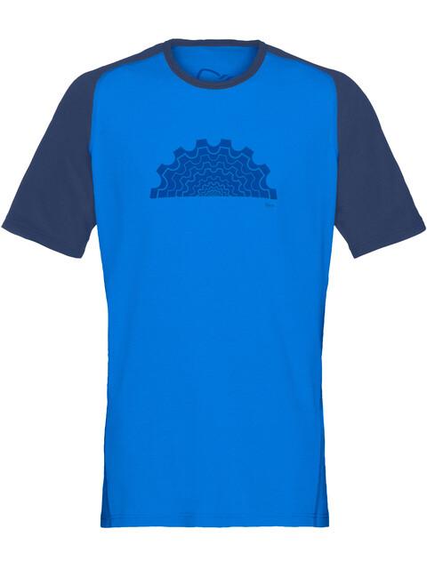 Norrøna Fjørå Equaliser Lightweight - Maillot manches courtes Homme - bleu